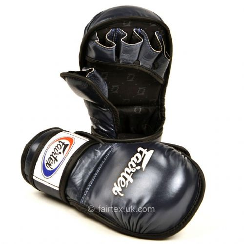 Fairtex MMA Sparring Gloves - Blue